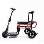 eFOLDI folding mobility scooter