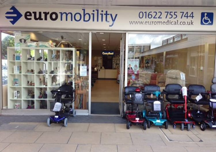 Euromobility showroom front