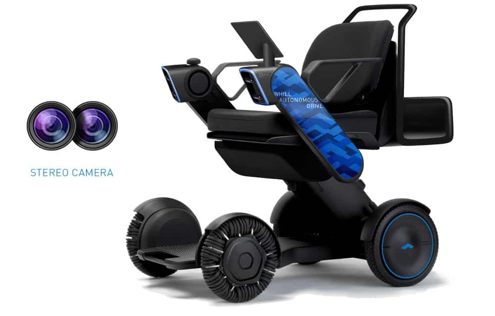WHILL automated driving powerchair