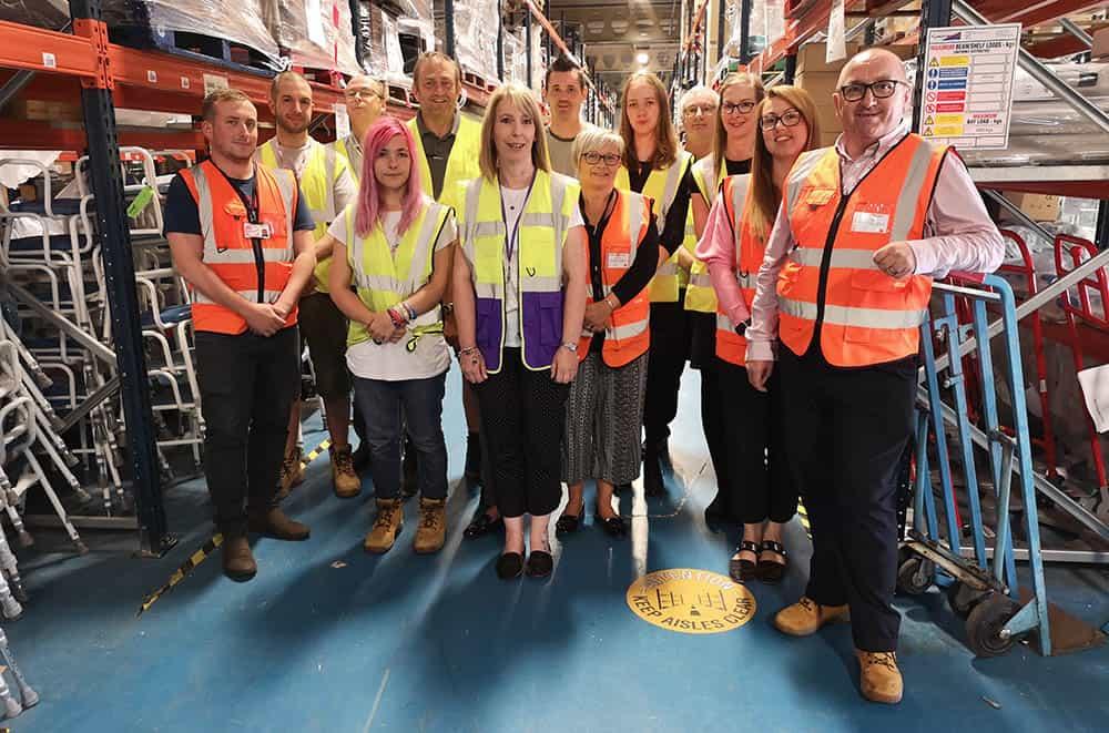 Essex Equipment Services team shot following CECOPS accreditation