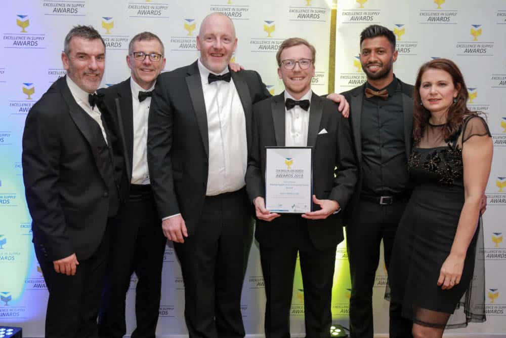 The Select Medical team at 2018 EiS Awards