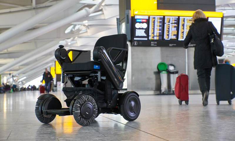 WHILL Model Ci in Airport