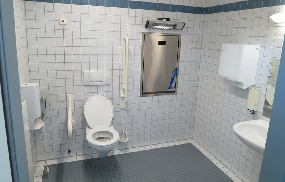 Disabled toilet WC