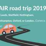 wheelAIR road trip 2019 England