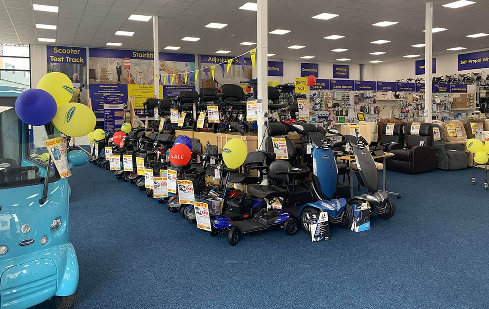 Ableworld flagship store in Stafford