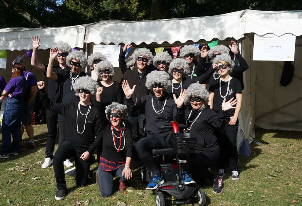 Clearwell Mobility - Gangsta Grannies team picture