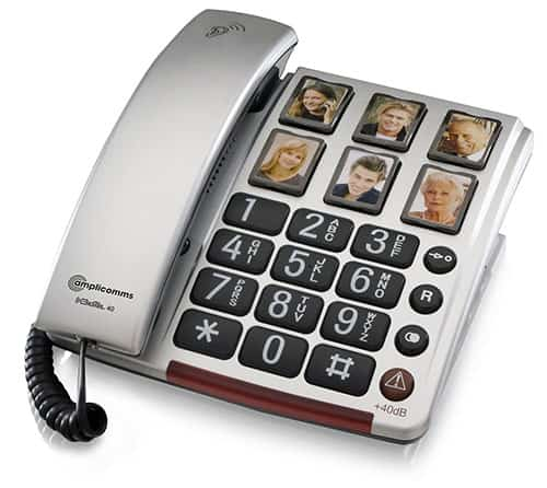 Picture dial telephone Able2