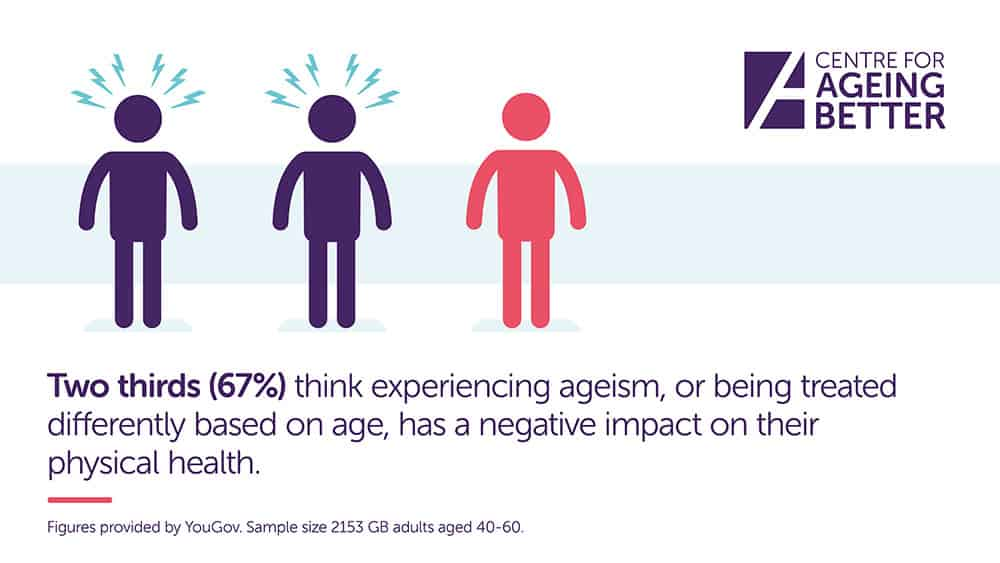 Ageing Better research ageism and physical health concerns