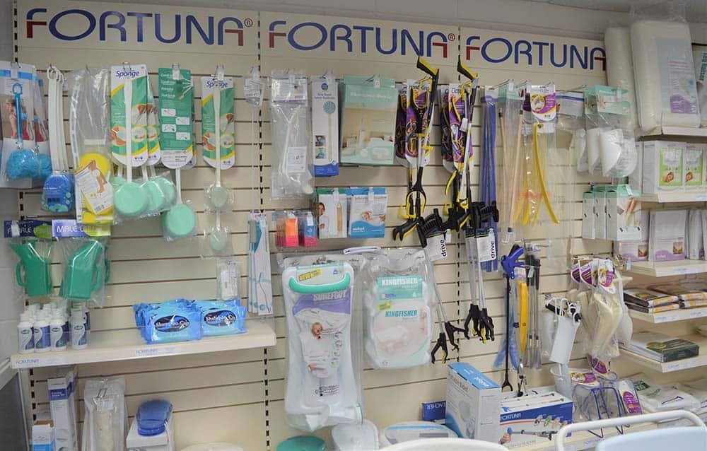 Fortuna Showroom ADL Display in Enfield Showroom