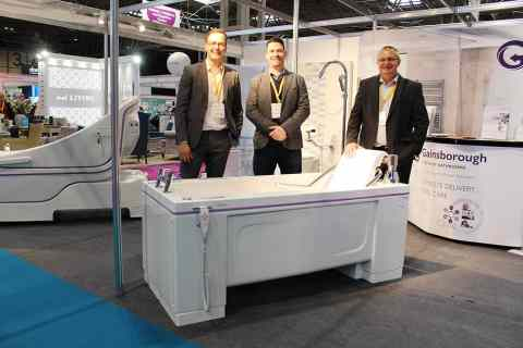 G360 total solutions from Gainsborough Specialist Bathrooms attract key industry figures at The Care Show