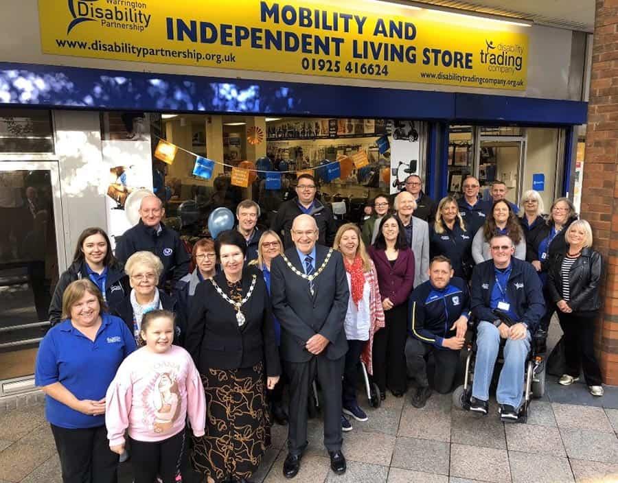 Warrington Disability partnership new Warrington store