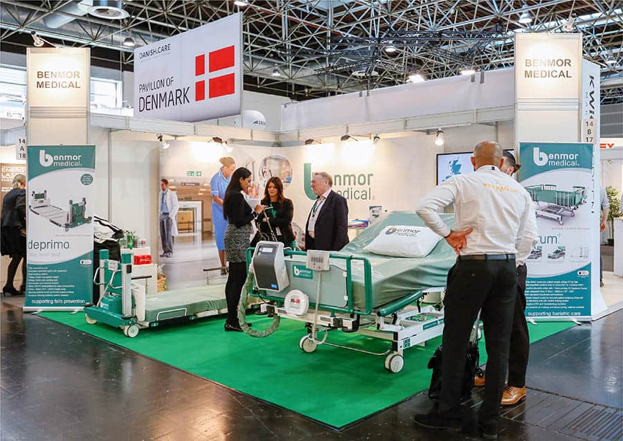 benmor medical exhibiting at show