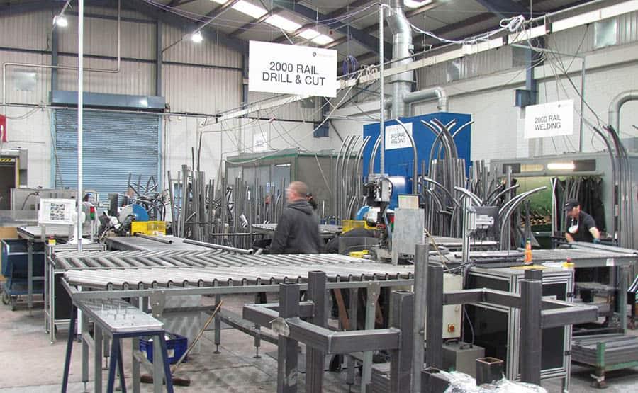 Handicare Manufacturing Metal Cutting