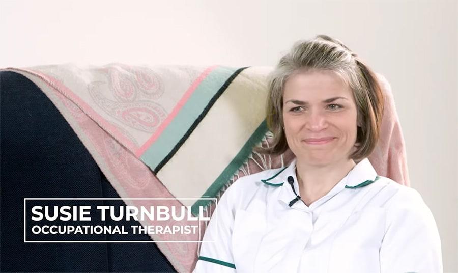 susie turnbull OT wheelair clinical educator