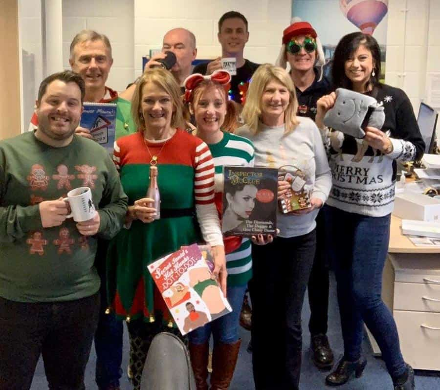 AHM Installations Christmas Jumpers