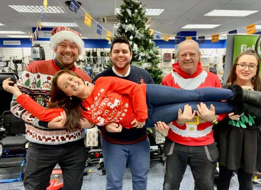 Lifestyle and Mobility Christmas Jumpers