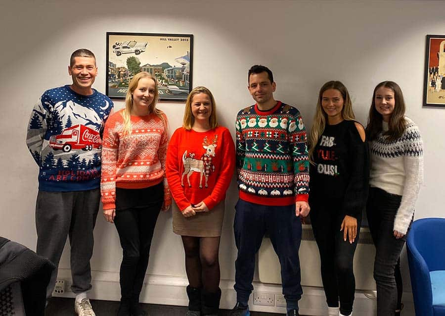 The Ramp People Christmas Jumpers