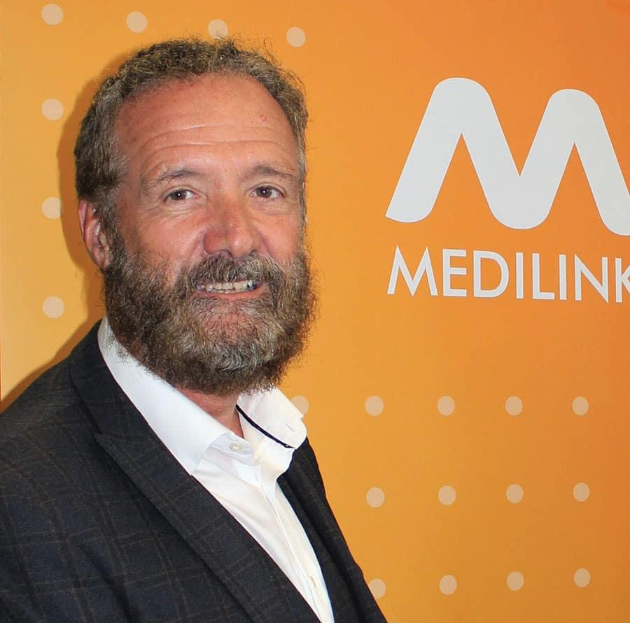 Medilink UK CEO Kevin Kiely image