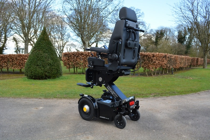 WheelAir V2 on a Precision Rehab Paravan PR50 powerchair image