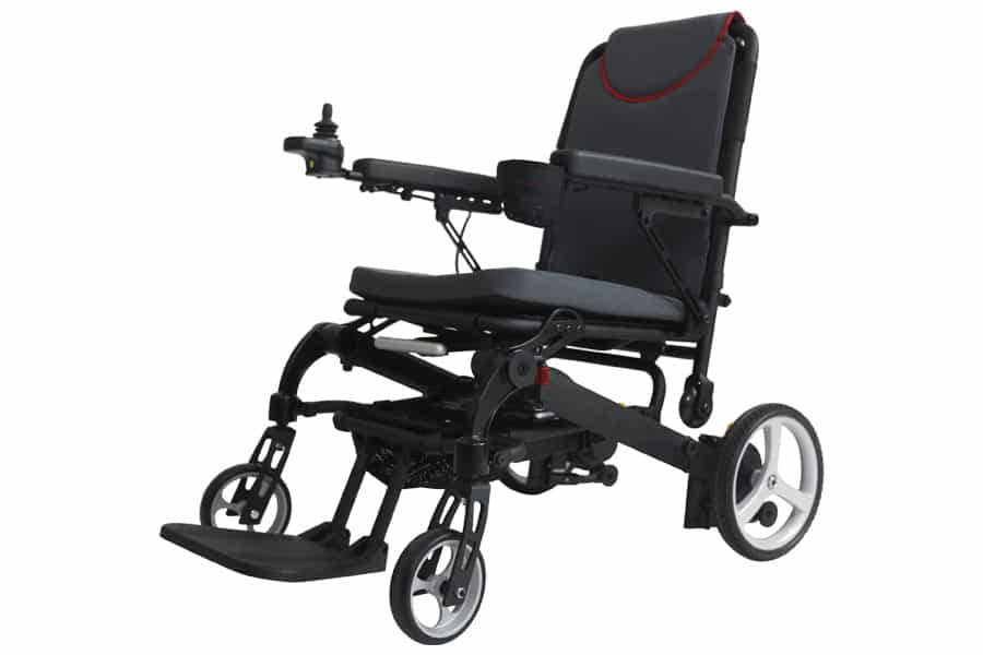 RHealthcare Dashi folding powerchair featured