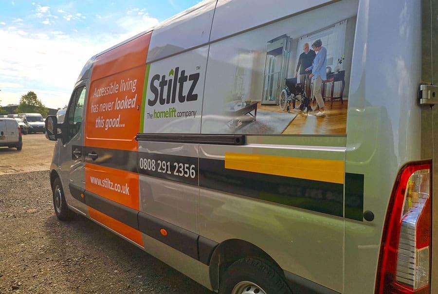 Stiltz vehicle
