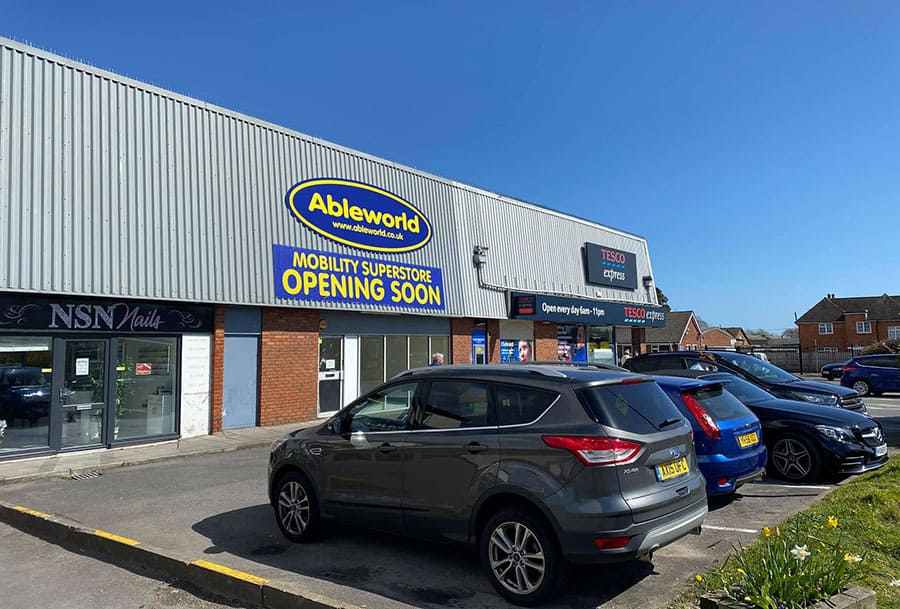 Ableworld's new outlet in Blackfield