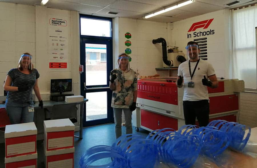 High school PPE dolphin lifts midlands