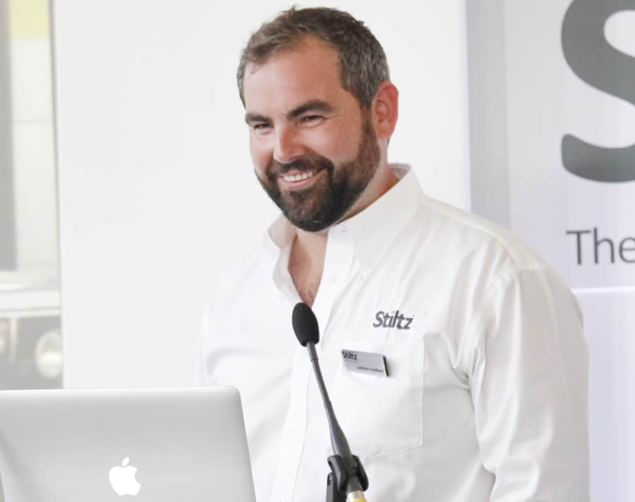 Lachlan Faulkner, Co-Founder and Chief Commercial Officer of Stiltz