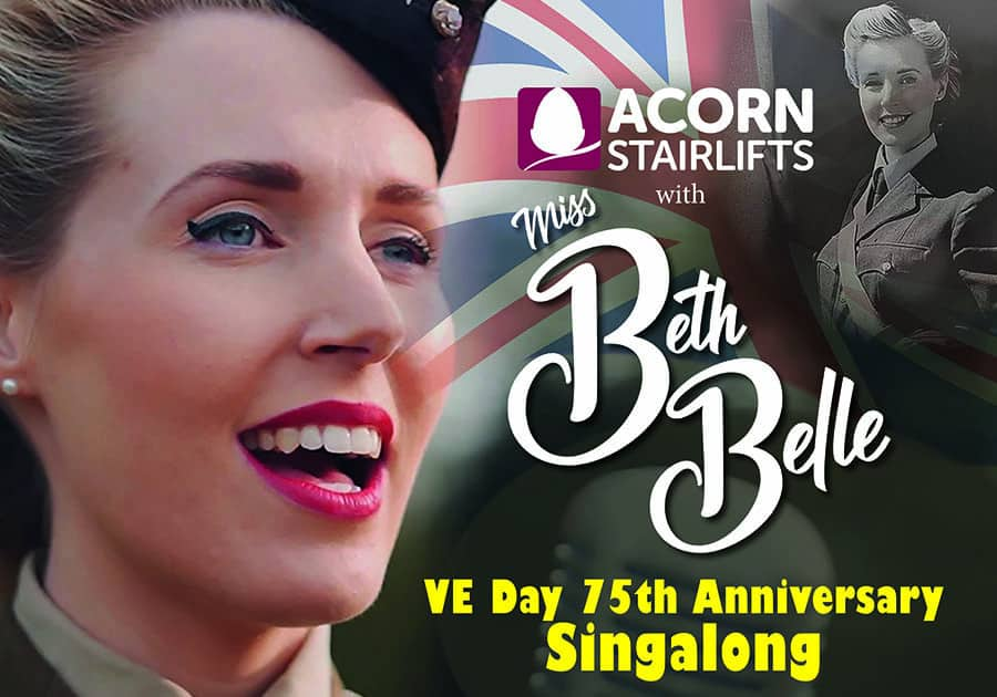 Acon Stairlift VE Day singalong