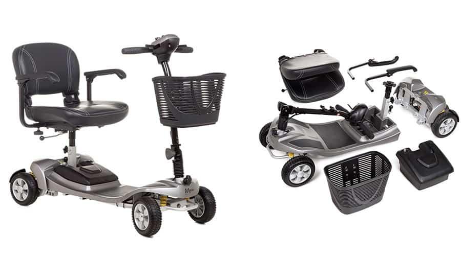Alumina mobiity scooter