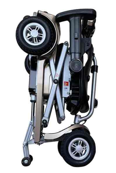 K Lite folded mobility scooter from Kymco