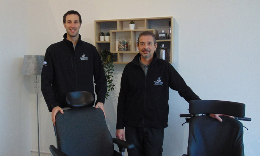 Chris Cox and Chris French Directors at Cinque Ports Mobility