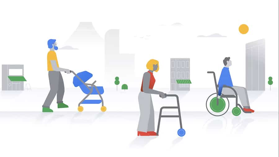 Google Maps Accessible Places image