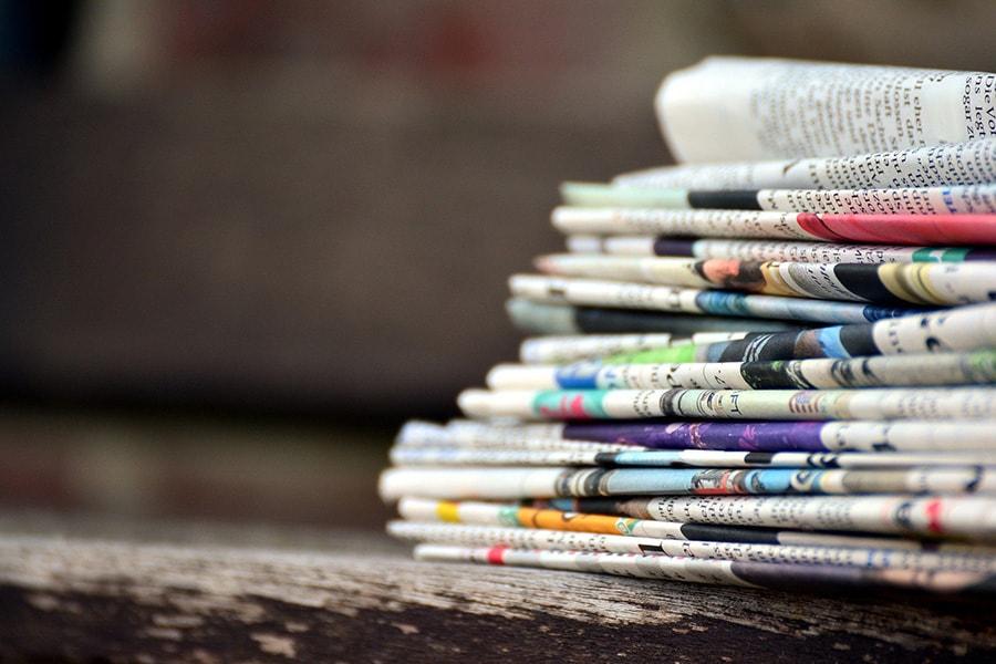 Newspaper PR pointer
