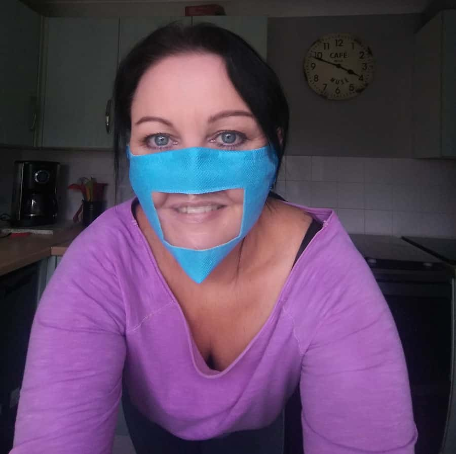 Friendly Face Mask Founder Sonia Carley image
