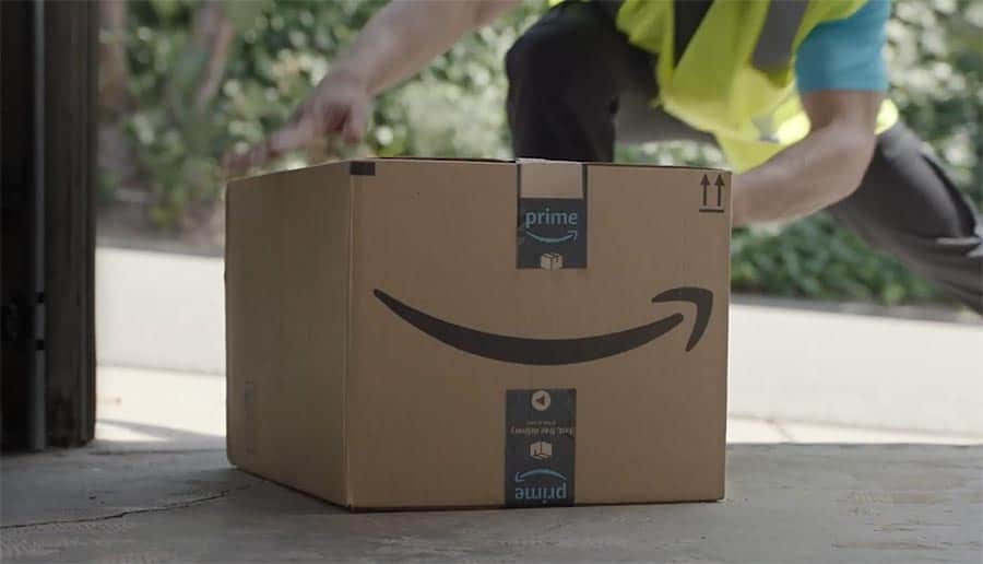 Amazon delivery to house