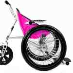 Breast Cancer Awareness Campaign - All terrain wheelchair