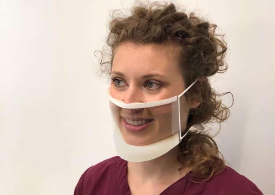 EZ Adjustern Transparent Mask ClearMask