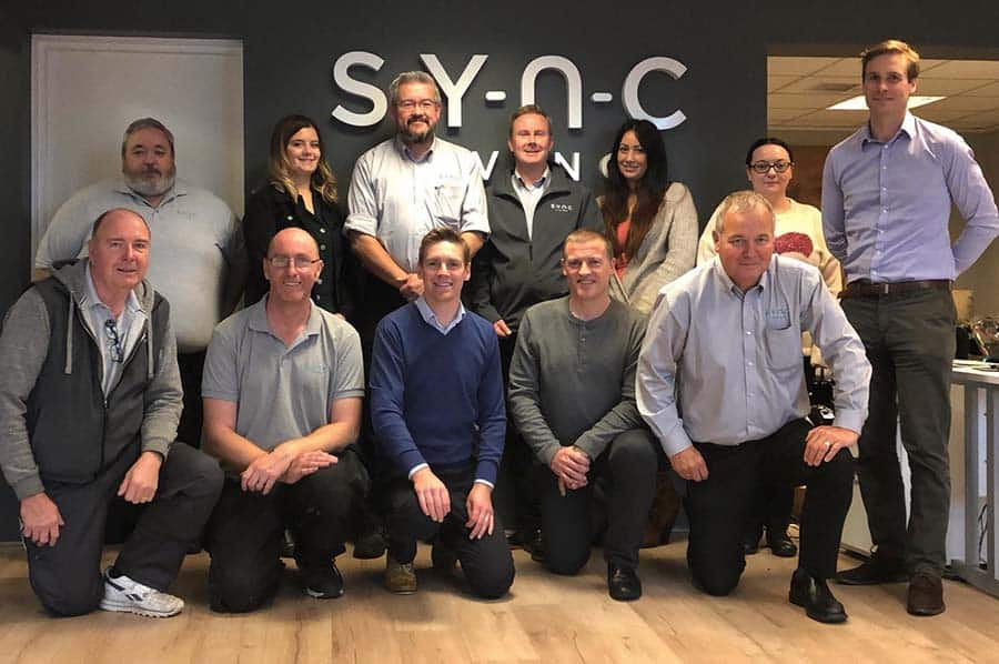 Team at Sync Living