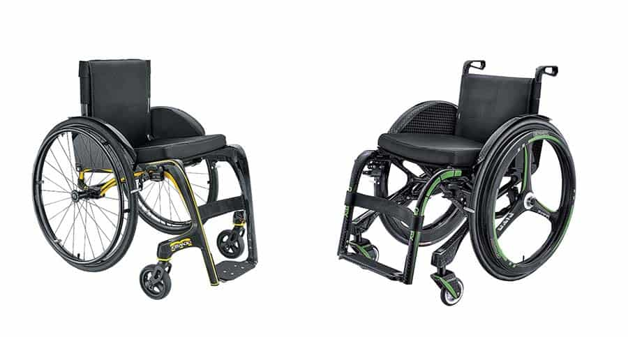 Taiwanese carbon fibre wheelchair models