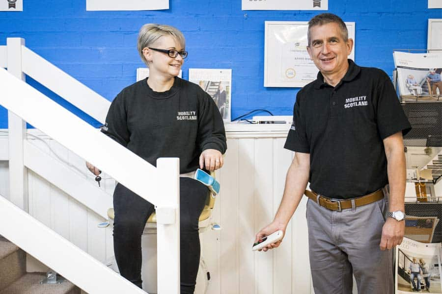 Mobility Scotland stairlift
