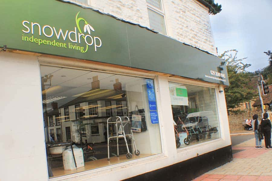 Snowdrop Independent Living Whitchurch Shop