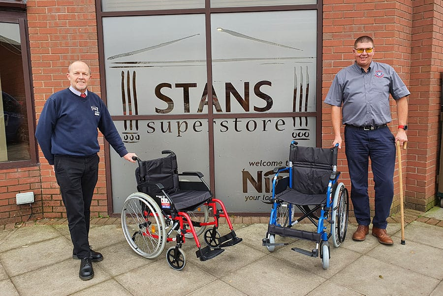 Shropshire Mobility Solutions Stans Superstore partnership image