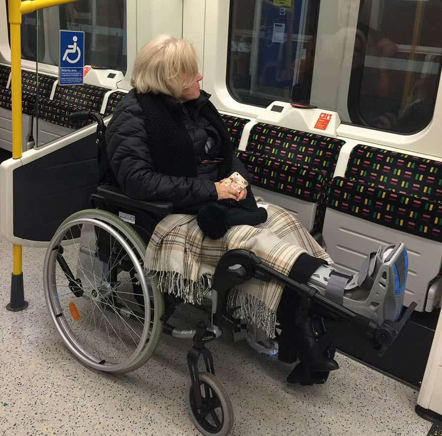 disabled transport image