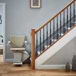 Non-handed Handicare 1100 Straight Stairlift image