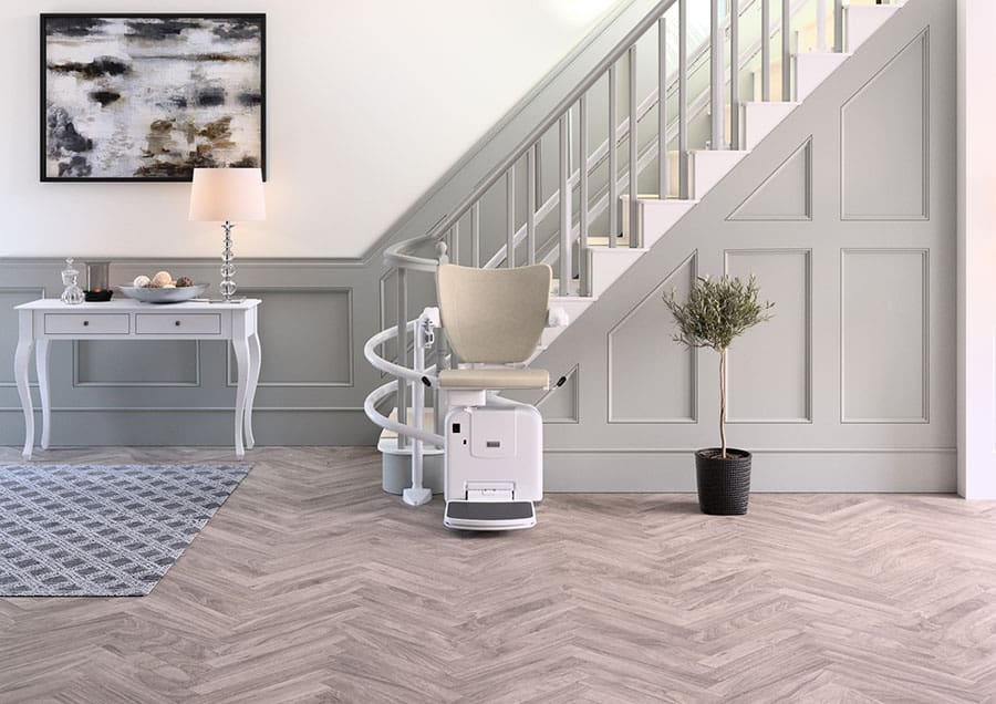 Handicare 2000 Curved Stairlift image