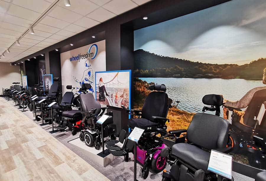 Wheelfreedom powerchair offering