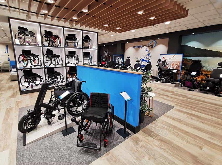 Wheelfreedom showroom offering 2