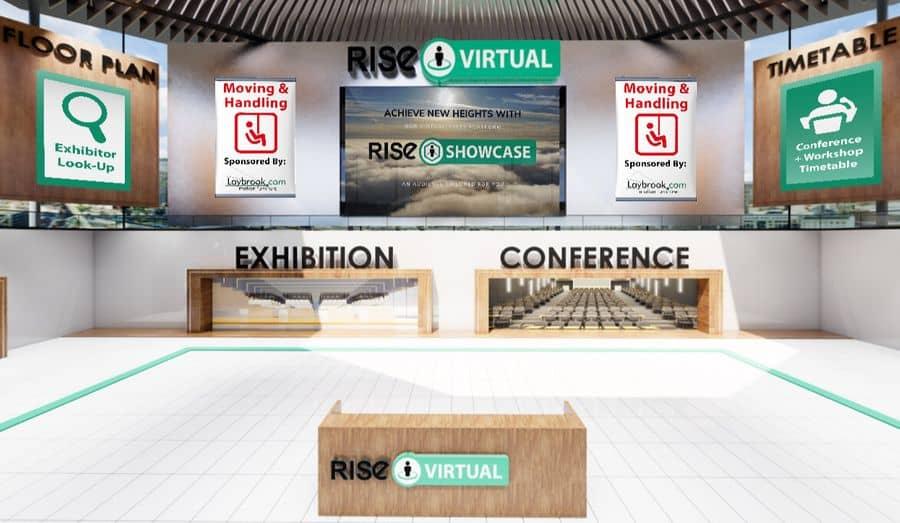 RISE virtual sales exhibition