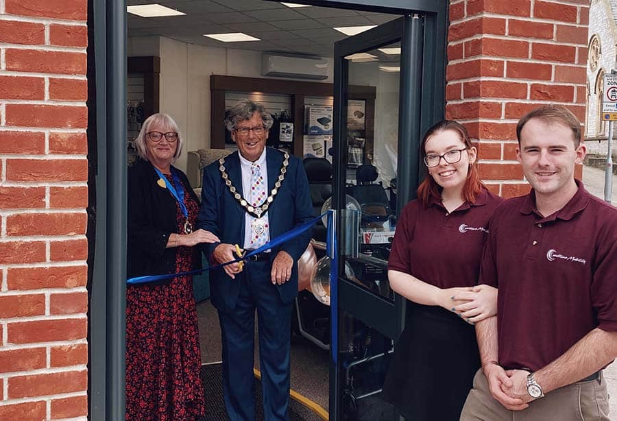Coastline Mobility The local mayor officially opens the Exmouth store website